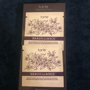 Tarte Brazilliance self tanning face towelettes
